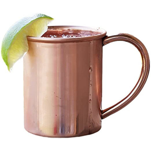 Electroplated Copper Mule Mug - alter8.com