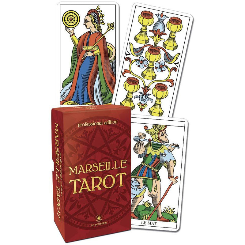 Marseille Tarot Professional Edition Cards - alter8.com