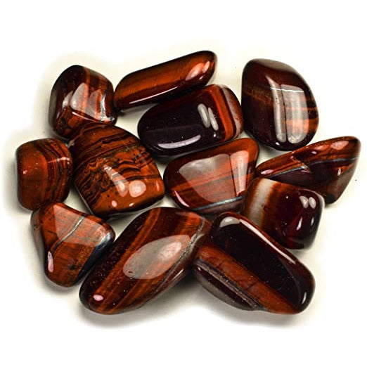 Tigers Eye (Red) Tumbled - alter8.com