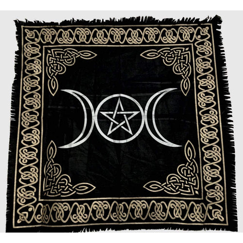 Triple Moon Altar Tapestry