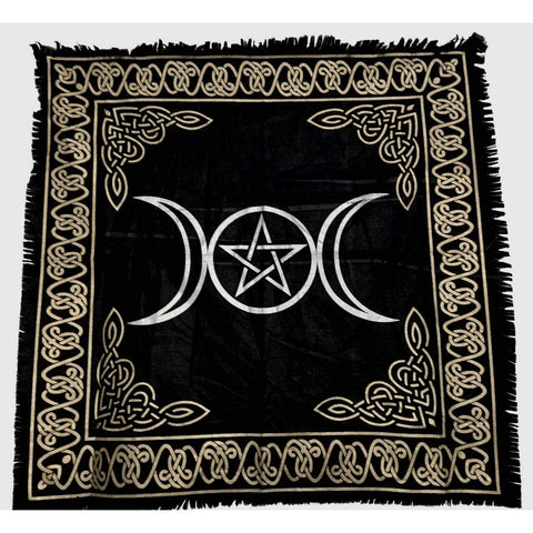 Triple Moon Altar Tapestry - alter8.com