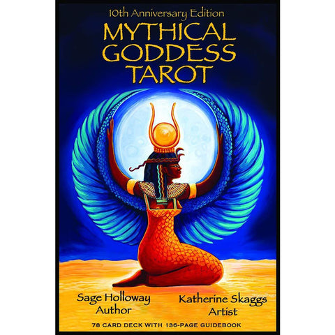 Mythical Goddess Tarot Deck and Guidebook Set Cards - alter8.com