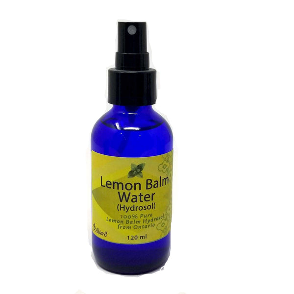 Lemon Balm Hydrosol Spray - alter8.com