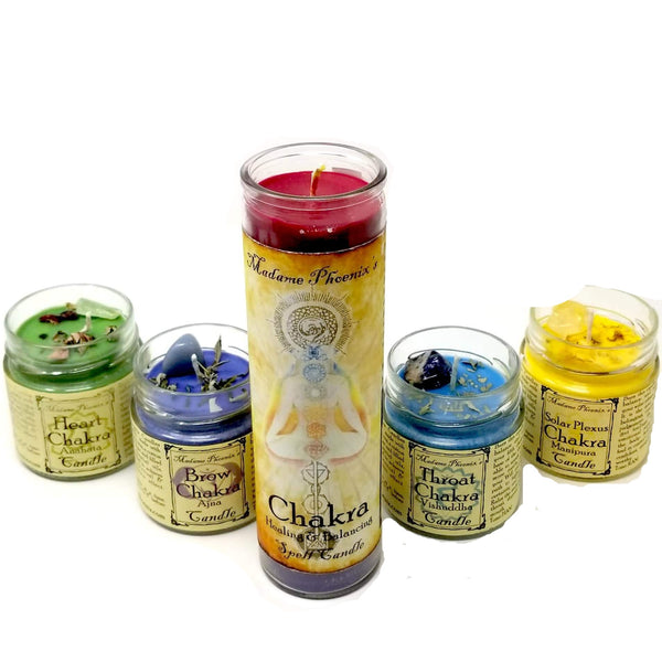 Chakra Candles by Madame Phoenix - alter8.com