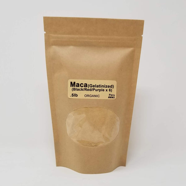WS Maca Powder (Gelatinized x6)  1lb - alter8.com