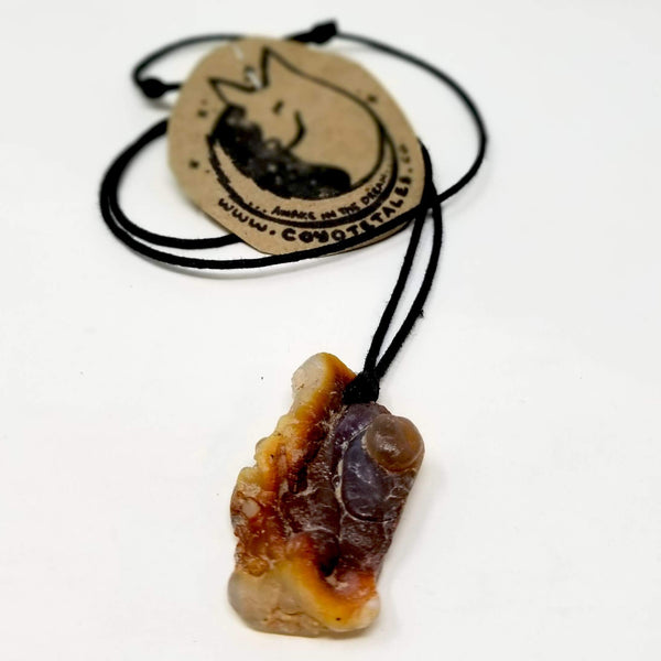 Fire Agate Pendant by Coyote Tales - alter8.com