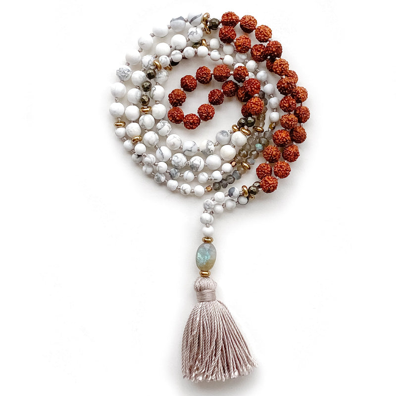 Aurora ~ Ceremony Mala by Light Seeds - alter8.com