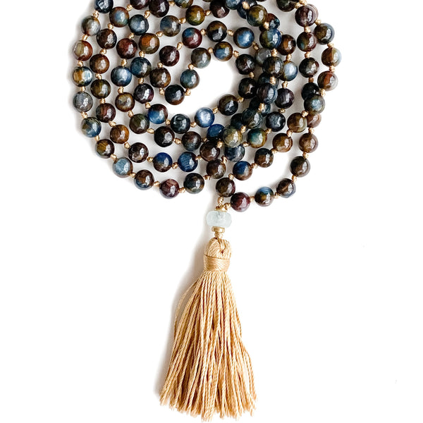 Awaken ~ 108 Prayer Mala by Light Seeds - alter8.com