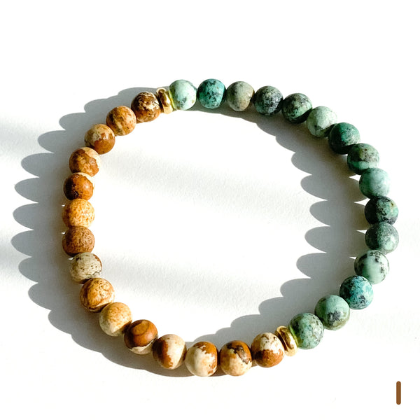 Gaia ~ Beaded Bracelet by Light Seeds - alter8.com