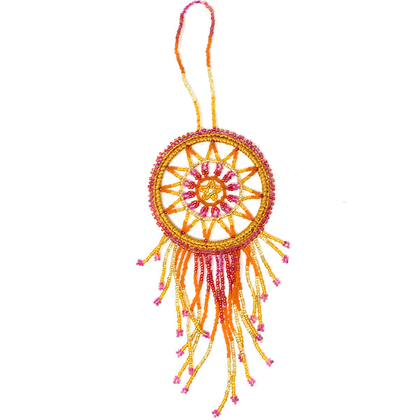 Beaded Dream Catcher by GuatBeads