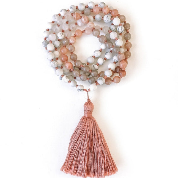 Ra ~ 108 Prayer Mala by Light Seeds - alter8.com