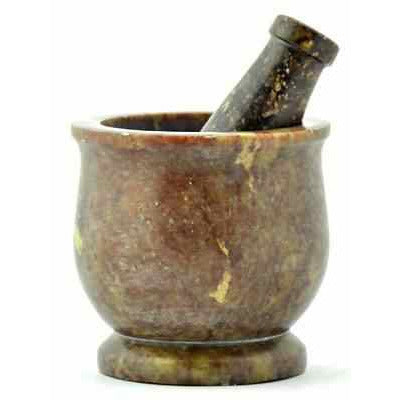 Soap Stone Mortar & Pestle - alter8.com