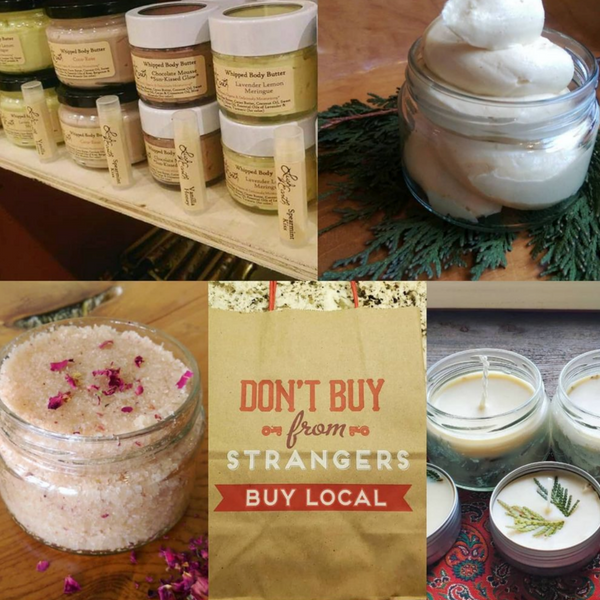 Body Scrubs by Lush Earth - alter8.com