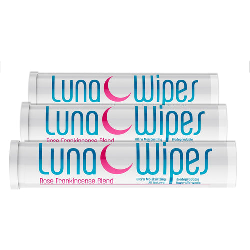 Luna Wipes Travel Tube