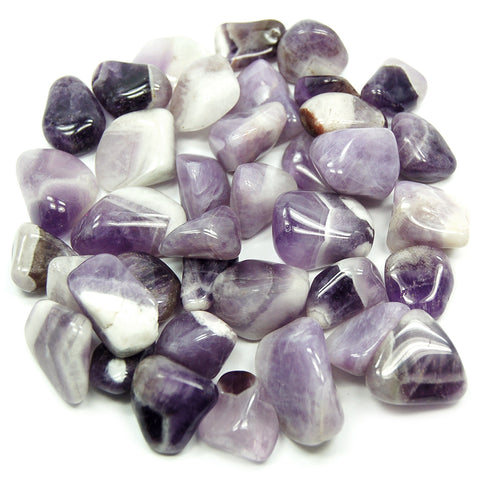 Chevron Amethyst Tumbled - alter8.com