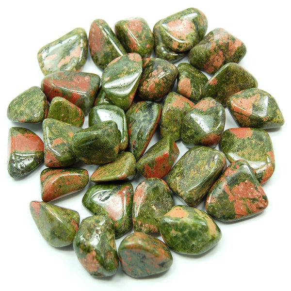 Unakite Tumbled - alter8.com