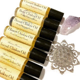 Chakra Oil Blends by Madame Phoenix (Dropper or Roller) - alter8.com
