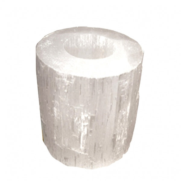 Selenite Candle Holder - alter8.com