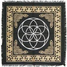 Seed of Life Altar Tapestry - alter8.com