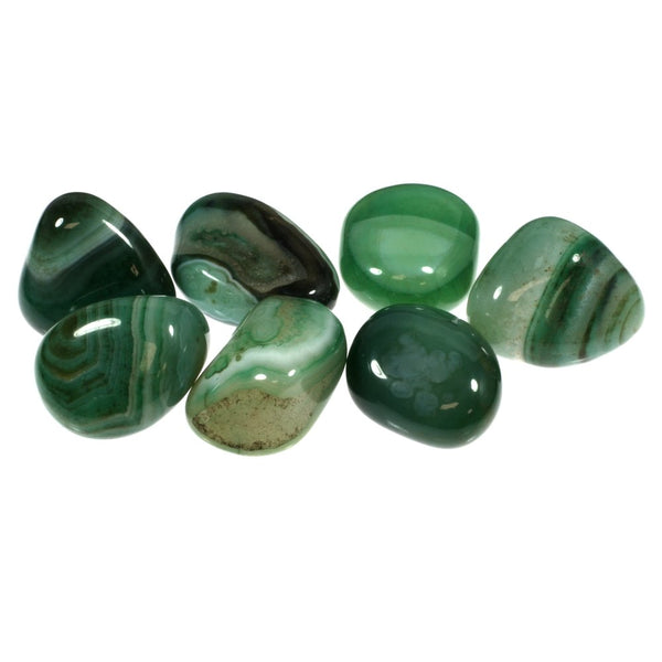 Green Agate Tumbled - alter8.com