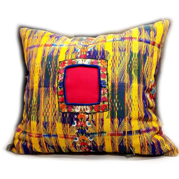 Guatemalan Huipil Plounge Pillows By Mary Cronin - alter8.com