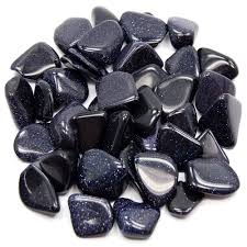 Blue Goldstone Tumbled - alter8.com