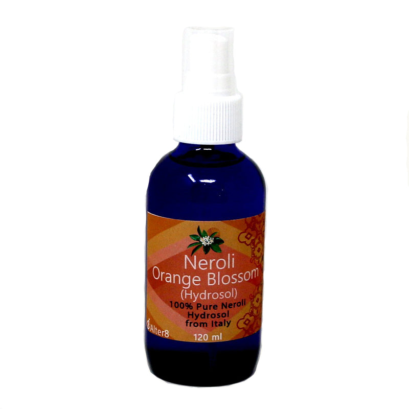 Neroli Orange Blossom Hydrosol Spray - alter8.com