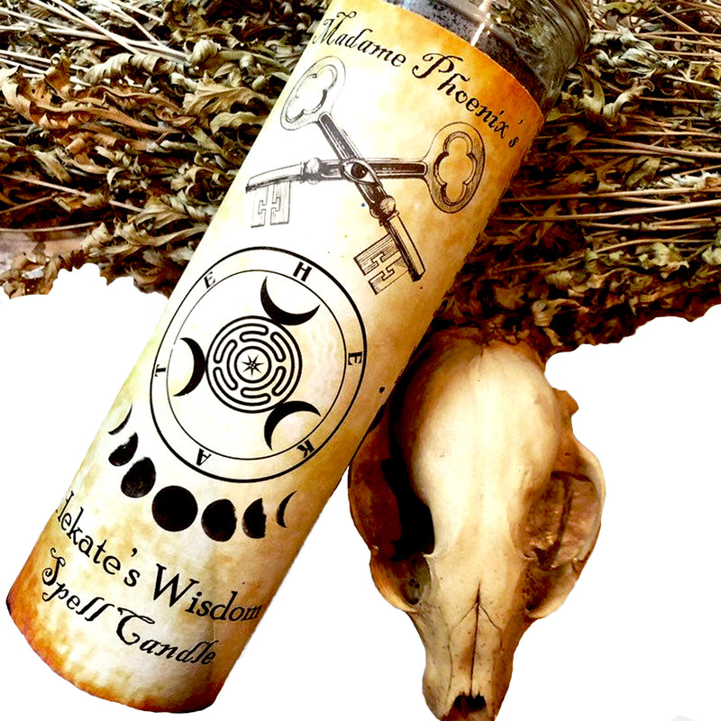 Heckate's Wisdom Spell Candle