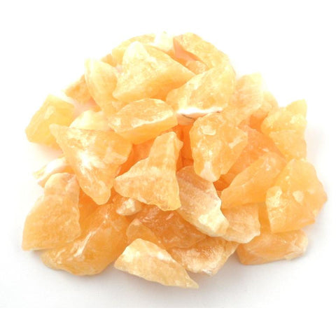 Orange Calcite Raw Chunks - alter8.com
