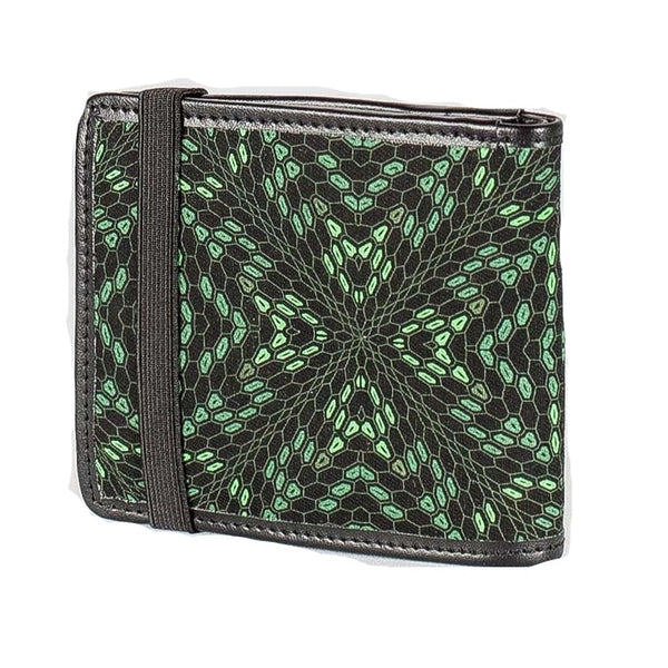 Seed of Life Men's Wallet: Hexit Print - alter8.com