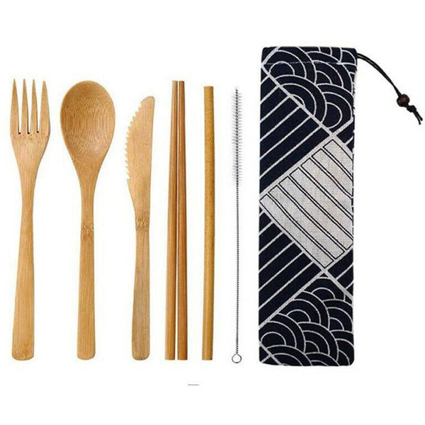Bamboo Utensil Set - alter8.com