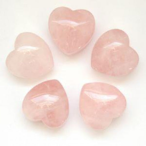 Rose Quartz Heart - alter8.com