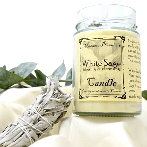 Sacred Herbs Candles (12oz) by Madame Phoenix
