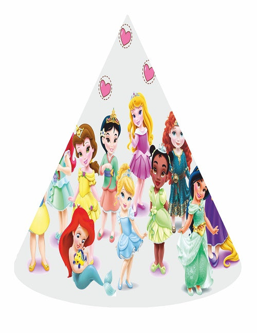 All Baby Princess Party Hats - 6pcs