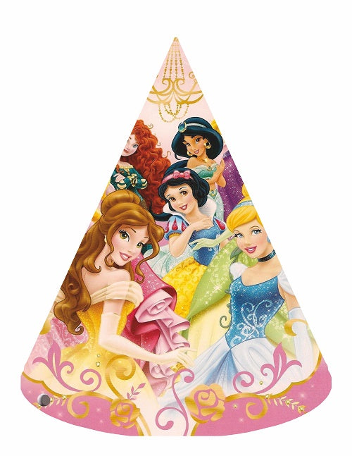 All Princess Party Hats - 6pcs