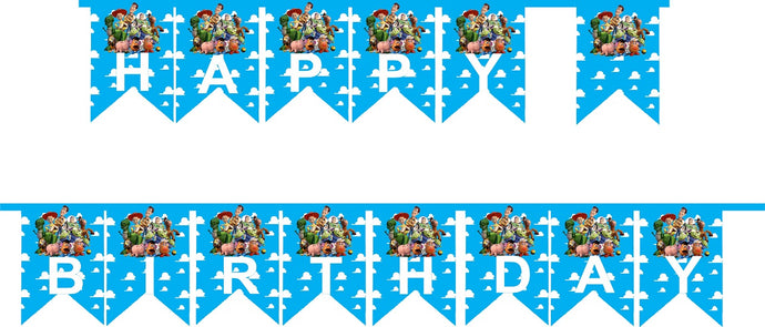 Toy Story HAPPY BIRTHDAY Party Banner - 1pcs