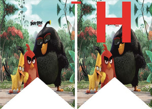 Angry Birds HAPPY BIRTHDAY Party Banner - 1pcs
