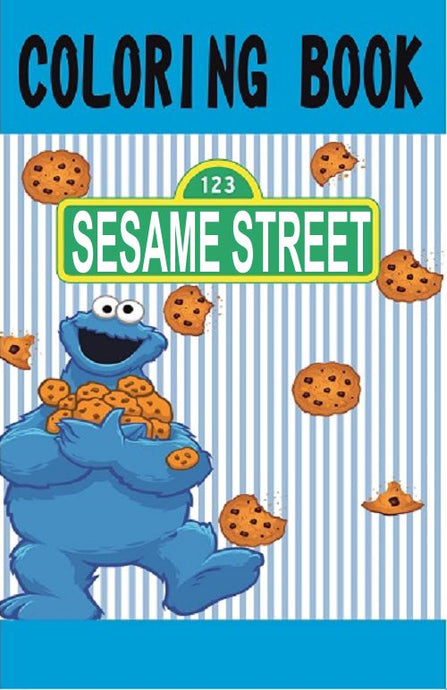 Sesame Street Cookie Monster Mini Coloring Book