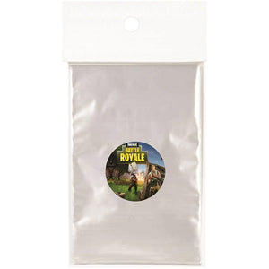 Fortnite Game Clear Party Bags for popcorn, candies or giveaways - 12pcs