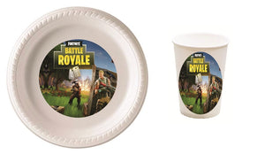 Fortnite Party Plates and Cups