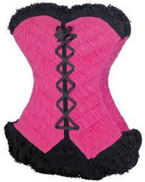 Corset Bachellorette Pull Strings Pinata 40cm - 1pcs Any Color