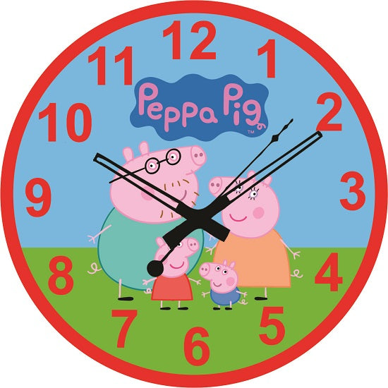 Peppa Pig Bedroom Kids Decoration - 1pc