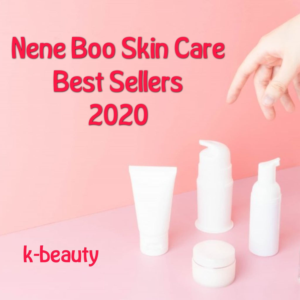 Nene Boo Skincare Best Sellers 2020 (K-Beauty)