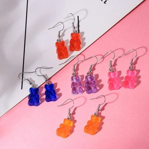 Gummy Bear Earrings