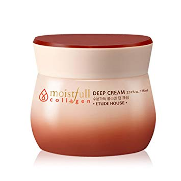 Etude House - Moistfull Collagen Deep Cream - nene-boo