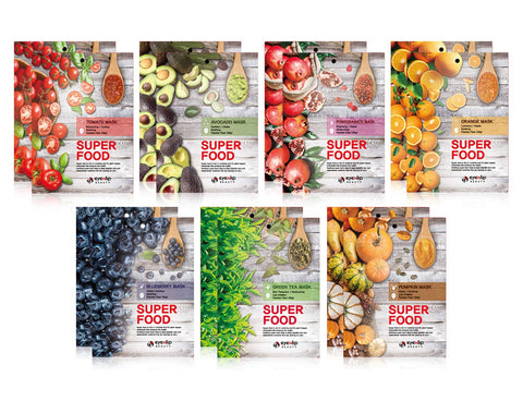 Eyenlip Super Food Sheet Masks - neneboo
