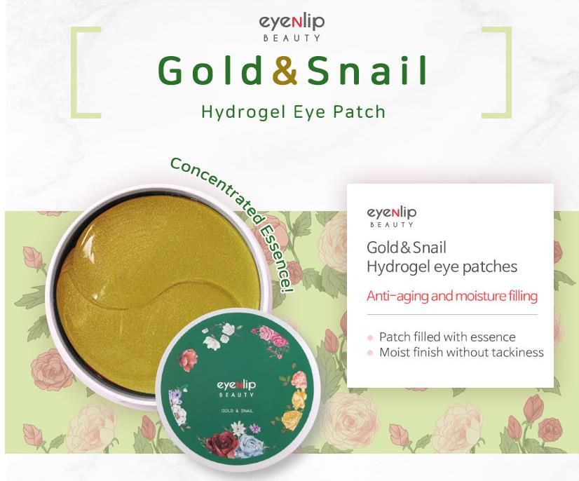 EYENLIP Hydrogel Eye Patches (4 types) - Επιθέματα Ματιών - neneboo