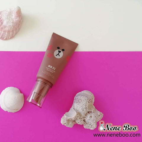 Missha  M Perfect Cover B.B Cream (Line Friends Edition) - neneboo