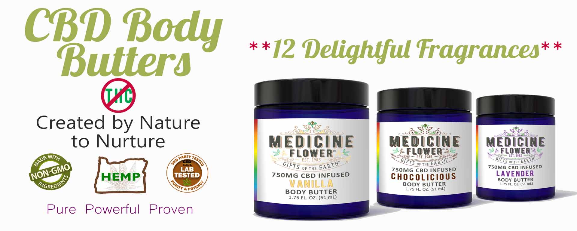 Medidine Flower CBD Body Butter