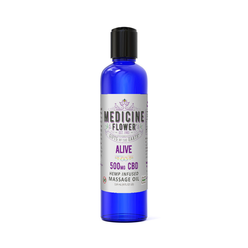 CBD Alive Massage Oil